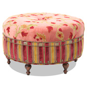 Upholstered & Kilim Ottomans